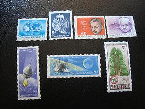 Hungary-stamp-yt-N-1765-1789-1799-1800-1807-1808-1814-N-A4-Stamp-Hungary