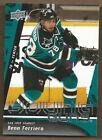 2009 Upper Deck Benn Ferriero #237 Hockey Card