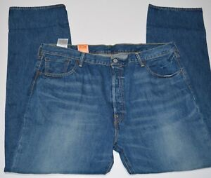 Levis-501-Original-Fit-Straight-Leg-Button-Fly-Men-039-s-Jeans-NEW-MSRP-70
