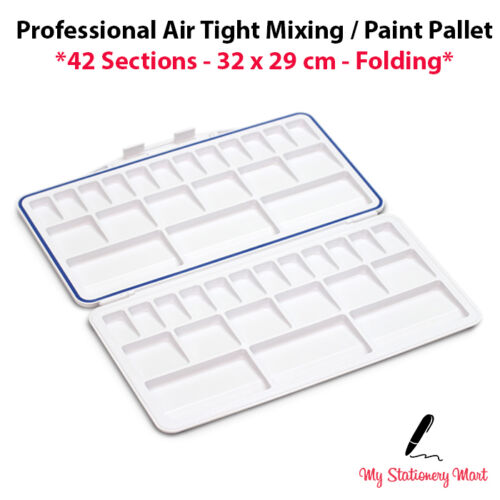42 Well Paint Palette XL Mixing Pallet Mixing Palette Artists AIR TIGHT Folding