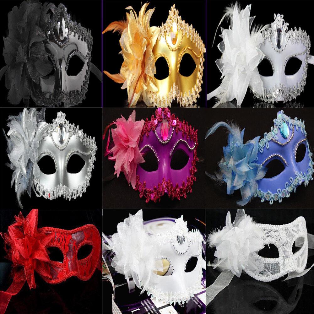 Vintage Eye Mask Lace Venetian Masquerade Ball Halloween Night Party Costume