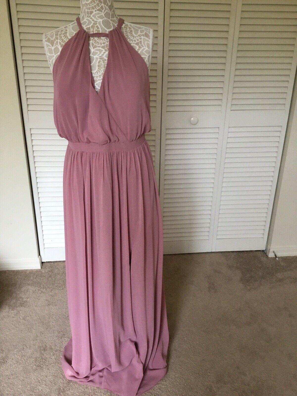 """""""Watters & Watters"""" Woman Gown Dress Size 18W Fully Lined"""