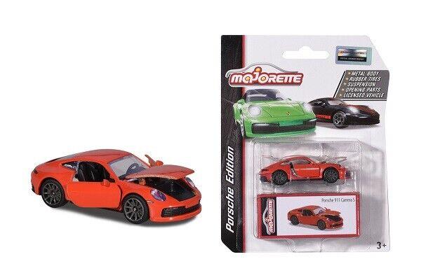 Majorette 212053153Q02 - Porsche Edition 911 CARRERA S - Orange - New