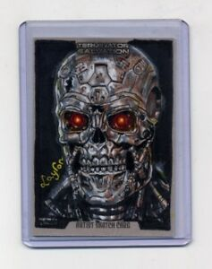 2009-TERMINATOR-SALVATION-Sketch-Card-Return-1-Free-Pack-Of-Cards-LAYRON