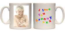 Christmas gift I love you granny personalised mug custom xmas present your photo