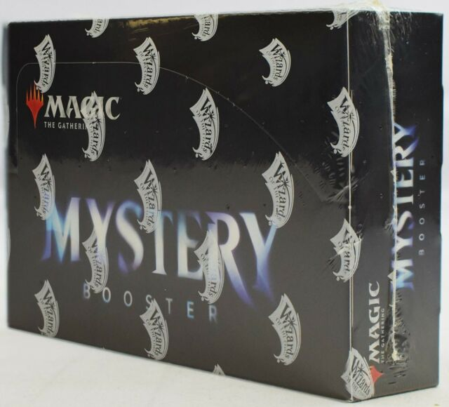 Mystery Booster Box - Factory Sealed - Retail Edition - MTG Magic Cards 24 packs