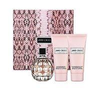 Jimmy Choo Womens Eau De Parfum Spray, 3.3 oz + 3.3 body lotion+ 3.3 gel 3.4