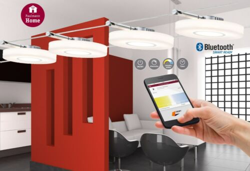 Paulmann Smart LED Seilsystem DiscLED I 4x4W Bluetooth Dimm+Weißlichtsteuerung