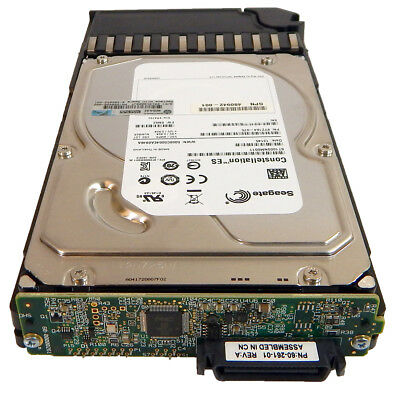 HP MSA2 1TB 7.2k 3.5in LFF SATA Hard Drive 480942-001 with Tray