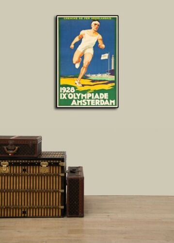 20x30 1928 IX Olympiade Amsterdam Vintage Style Olympic Sports Poster