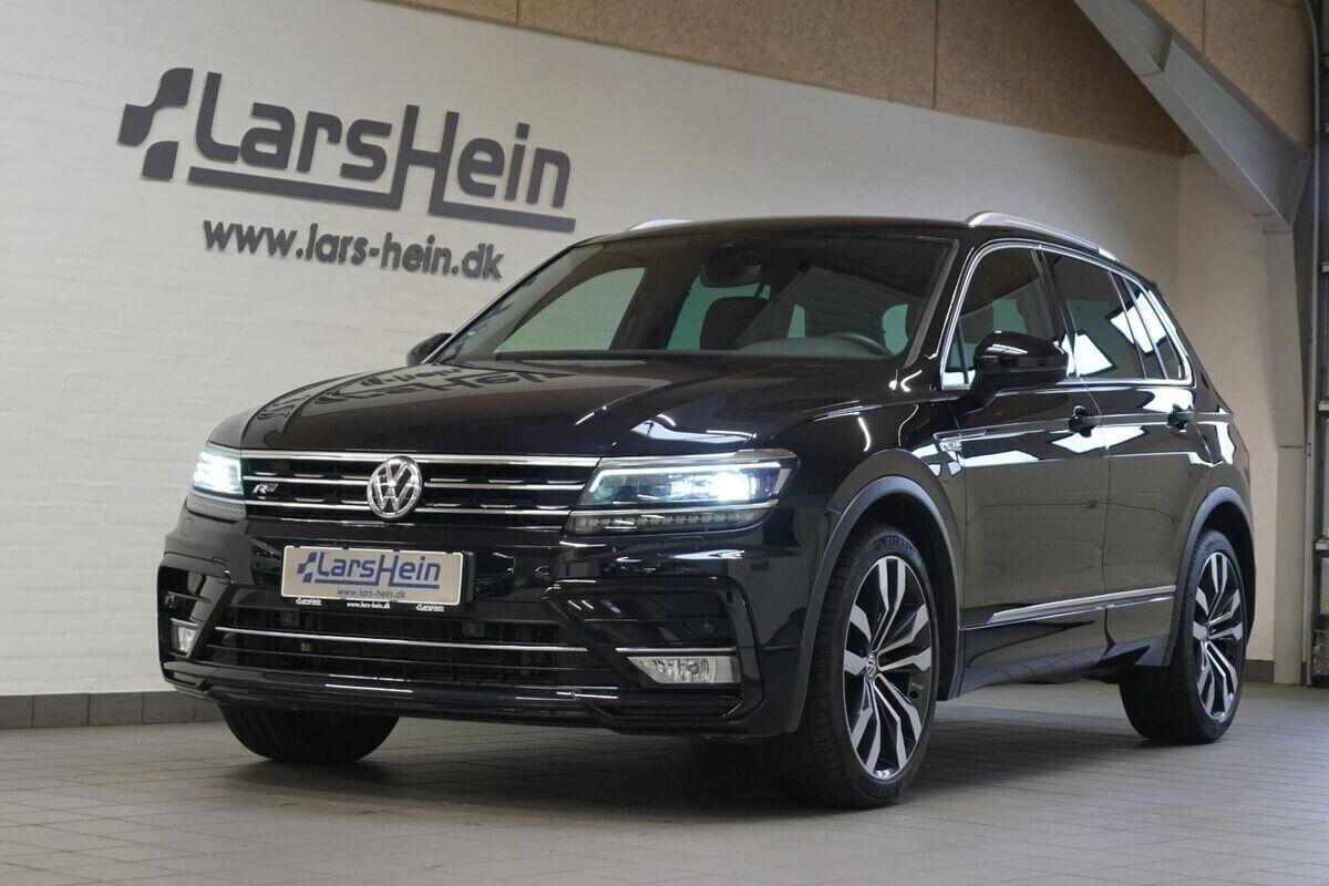 VW Tiguan 2,0 TDi 240 R-line DSG 4M 5d - 479.800 kr.