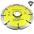 Diamond Disc Mortar Raker Pointing 115mm 4 1/2-Inch Grinder