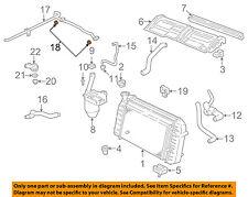 OEM Genuine GM Radiator Air Seal Upper Baffle 08-12 Malibu 07-09 Aura 25837247
