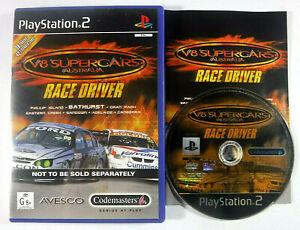 V8 Supercars Race Driver PS2 Playstation 2 MINT DISC | eBay