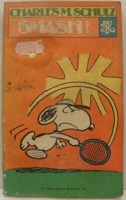Contemplativo Smash! Di Charles M. Schulz N° 219 1a Edizione Bur 1979 Rizzoli Discreto