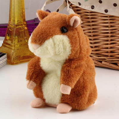 Lovely Talking Hamster Plush Toy Hot Cute Speak Talking Sound Record Toy EW
