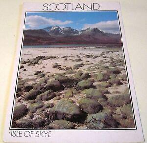 Scotland-Isle-of-Skye-Loch-Slapin-PIS00280-DRG-J-Arthur-Dixon-posted-1990