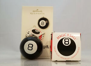 Hallmark-Keepsake-Ornament-2005-Magic-8-Ball-PLEASE-READ-DESCRIPTION-QXI2234
