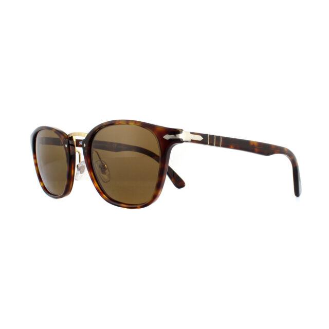 Persol Sunglasses 3110S 24/57 Havana Crystal Brown Polarized