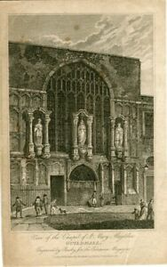 View-Of-The-Chapel-of-St-Mary-Magdelen-Engraving-By-Busby