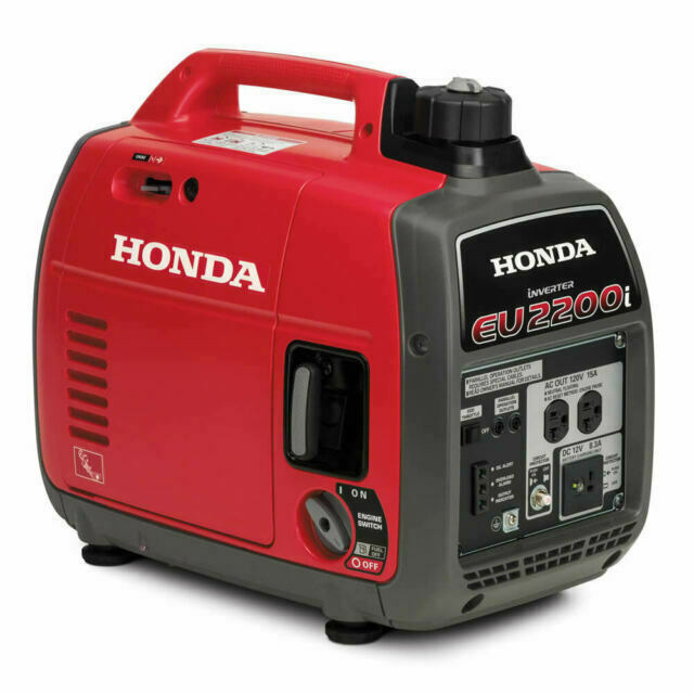 Honda Super Quiet Eu2200i 2 200w Portable Inverter Generator For Sale Online Ebay