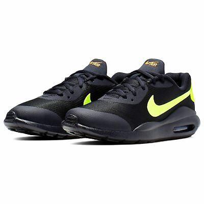 Scarpe Donna Ginnastica Nike Air Max Oketo Nero Verde Fluo 38.5 - Uk5.5 - 24 Cm