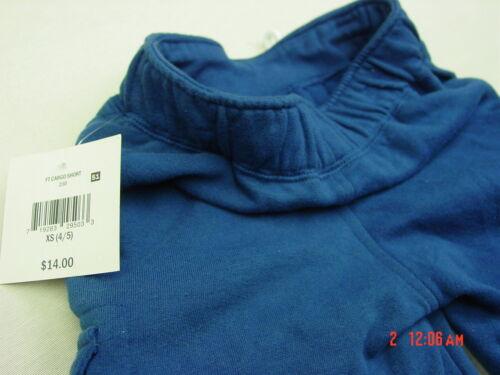 NWT Boys Falls Creek Pull On Cargo Shorts Dark Blue Soft Comfortable fashion