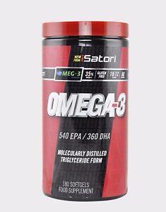 Isatori-Omega-3-180-Softgels-Olio-di-Pesce-Omega-3
