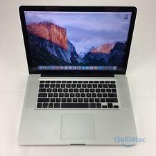 "Apple 2011 MacBook Pro 15"" 2.4GHz I7 750GB 4GB MD322LL/A + C Grade + Warranty!"