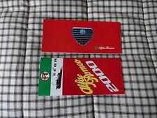 1971 1972 Alfa Romeo 2000 GTV Berlina & spider brochure x 2 NOS original