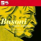 Ferruccio Busoni: Violin Sonatas (CD, Jan-2012, Newton Classics (Label))
