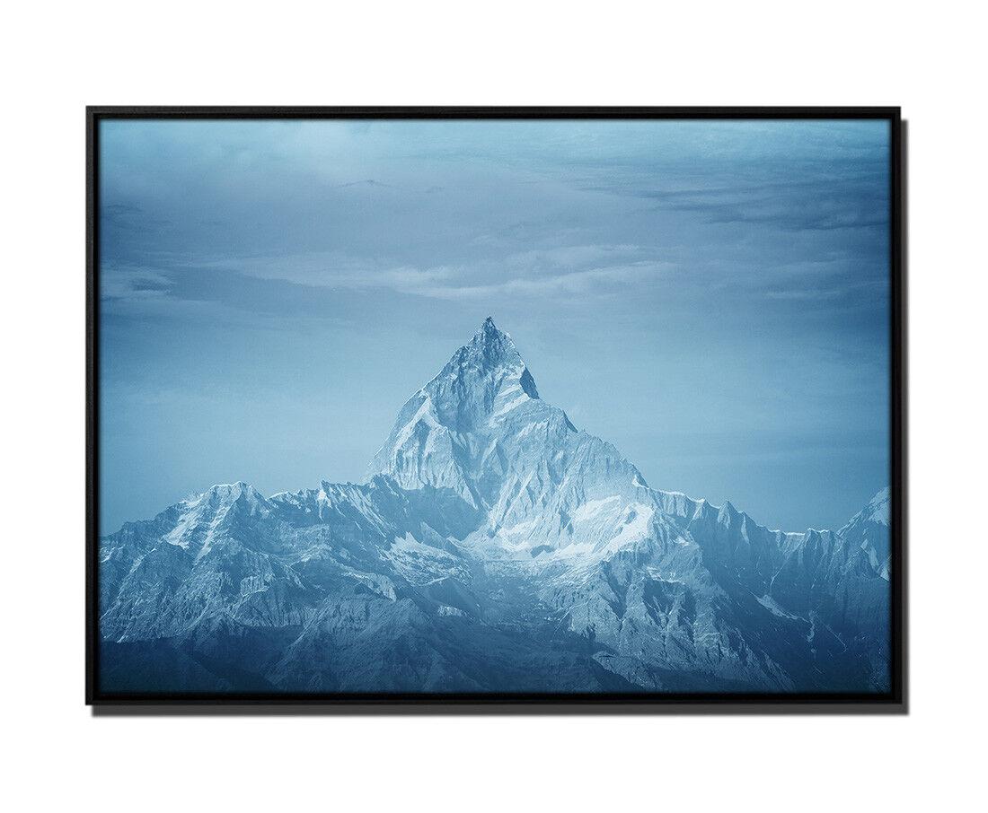 105x75cm Leinwandbild Petrol Natur Himalaya-Gebirge