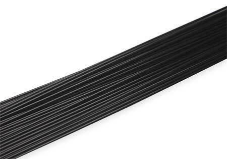SEELYE 900-12503 Welding Rod,PP,3//16 In,Black,PK26