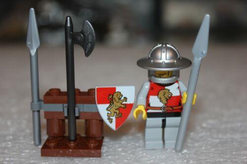 """LEGO Minifigures Knights Ritterwelt /"""" Löwenritter /""""  Top  Zustand"""