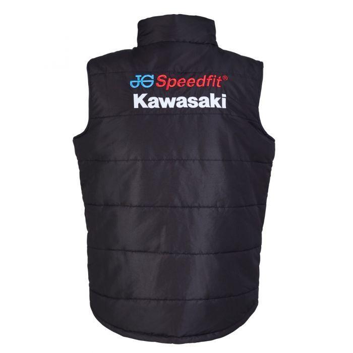 Official JG JG JG SPEEDFIT Kawasaki Team Bodywarmer - 18JGK-BW | Der neueste Stil  521986