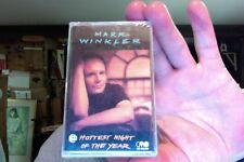 Mark Winkler- Hottest Night of the Year- new/sealed cassette tape