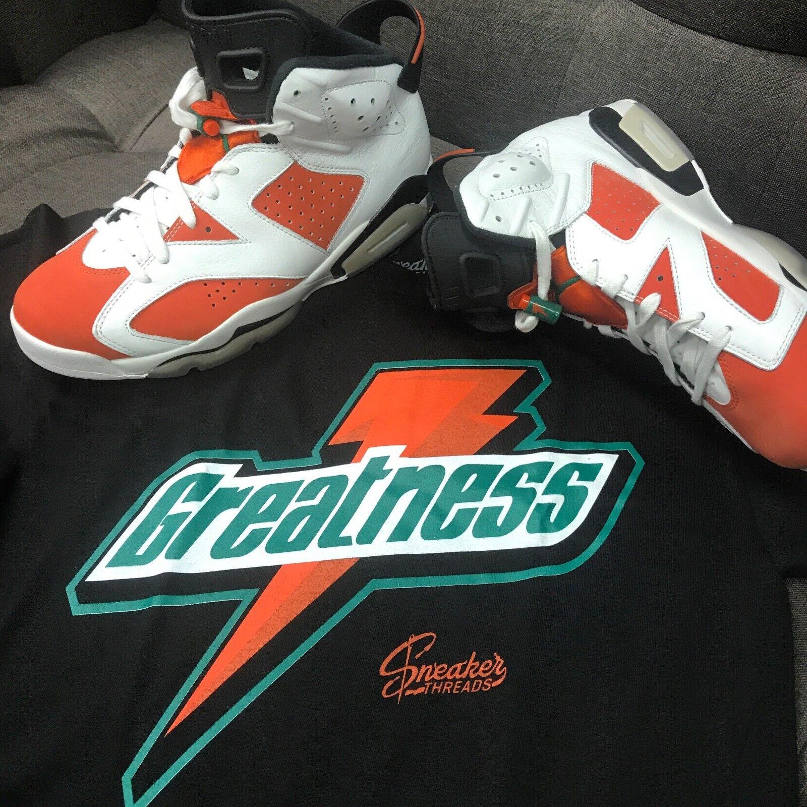 64ff7af26b4a Shirt Jordan 6 Gatorade Win Like Mike - Greatness Tee Match ...