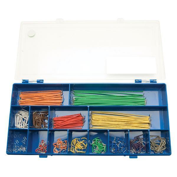 1 x KS-350 Jumper Wire Kit - Box of 350, Electronics Breadboard Jumper Wires