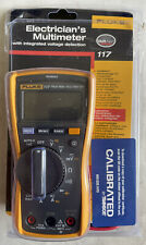 New Listingfluke 117 Electricians True Rms Multimeter With Leads Amp Manual