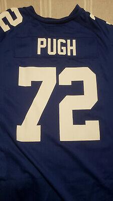 Justin Pugh Giants #72 NFL Nike Game Jersey Blue Men's size XL | eBay