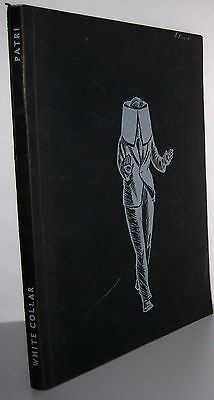 RARE White Collar A Novel in Linocuts by Giacomo G. Patri 1940 book illustrated