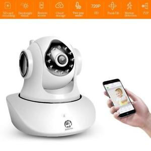 720P Security Camera 2.4G WiFi Supports 2 Way Talk Remote Home Surveillance