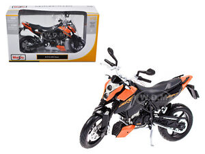 Ktm 690 Duke Bike Orange Black 1 12 Motorcycle By Maisto 31181