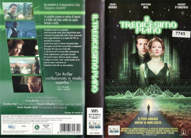 Il tredicesimo piano (1998) VHS