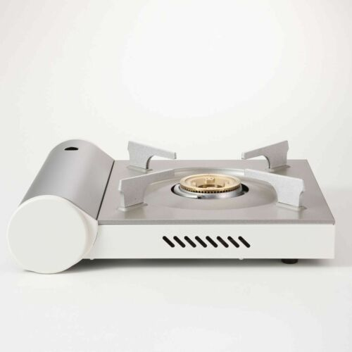 MUJI Portable cooking gas stove Aluminum die-cast RK-2 White From Japan