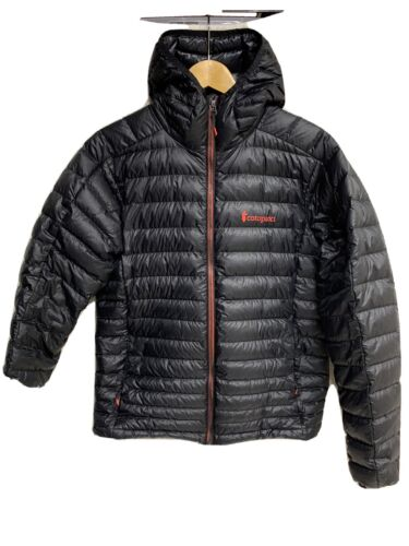 Cotopaxi Fuego Hooded Down Jacket Men S Black & Re