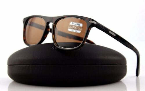 NEW Authentic SERENGETI LEONARDO Dark Havana P629-102 Drivers Sunglasses 8155