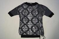 Street One T-Shirt & Top *2 in 1*  Gr. 36 Stretch grau / schwarz / silber *NEU!*