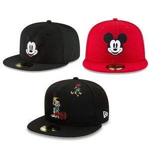 59fifty NEW ERA MICKY CAP LIMITED EDITION white//red//black