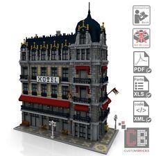 CB Eigenbau Bauanleitug Cafe Hotel Modular Building Creator MOC für LEGO® Steine